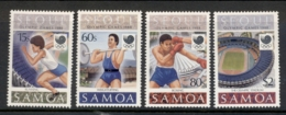 Samoa 1988 Summer Olympics Seoul MUH - Samoa