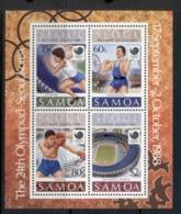 Samoa 1988 Summer Olympics Seoul MS MUH - Samoa