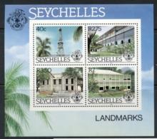 Seychelles 1983 Landmarks MS MUH - Seychelles (1976-...)