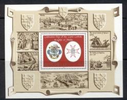 Seychelles 1986 Knights Of Malta MS MUH - Seychelles (1976-...)