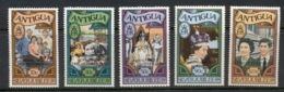 Antigua 1977 Royal Visit Opt MUH - Antigua Et Barbuda (1981-...)