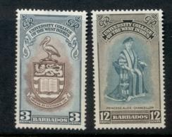 Barbados 1951 University Of West Indies MUH - Barbados (1966-...)