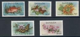 Barbuda 1978 Flora & Fauna MUH - Antigua Et Barbuda (1981-...)