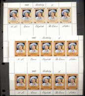 Bangladesh 1981 Queen Mother 80th Birthday 2x Sheetlet MUH - Bangladesh