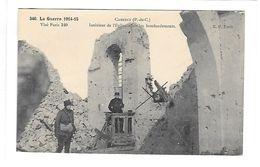 62 - CARENCY - Intérieur De L'Eglise Après Les Bombardements - Guerre 1914/1918  Ecrite En 1916.... - France