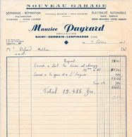 2 Documents - NOUVEAU Garage Maurice Payrard - Mécanicien - Saint-Germain L'Espinasse (Loire) - Cars