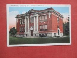High School  Old Forge   New York   Ref 4201 - Adirondack