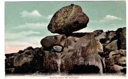 Rocking Stone Mt Wellington - Hobart
