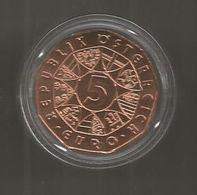 Monnaie Commémorative , EURO , Autriche, Wiener Walzer, 2013, 5 €, Republik OSTERREICH,  3 Scans - Autriche