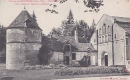 8 FONTENAY                         Cour Interieure Eglise Et Colombier - Other Municipalities