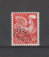 FRANCE / 1953-1959 / Y&T Préo N° 115 ** : Coq 30F Orange X 1 - Precancels