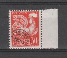 FRANCE / 1953-1959 / Y&T Préo N° 115 ** : Coq 30F Orange X 1 BdF D - Precancels