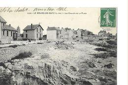BATZ    LE BOURG  N 2185  LES CHALETS DE LA PLAGE    Defaut Haut Milieu  DEPT 44 - Batz-sur-Mer (Bourg De B.)