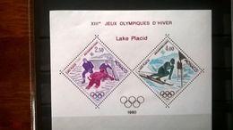 Monaco 1980 Olympiad Lake Placid - Winter 1980: Lake Placid