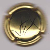 Capsule Champagne VINCENT_LAMOUREUX ( 2a ; Or-jaune Et Noir ) {S28-20} - Champagne