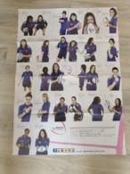 Poster France Féminines : Programme Des Rencontres De France Féminines Coupe Du Monde 2014 - Rugby