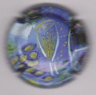 Capsule Champagne BROCARD Michel ( 21c ; Tableau Bleu-violet ) {S28-20} - Champagne