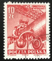 Polska - Poland - Polen - P1/7 - (°)used - 1952 - Betonindustrie - Michel Nr. 749 - Used Stamps