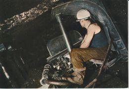 MINES LA MINE EN ACTIVITÉ  MACHINE ALACCHI EN SEMI DRESSANT - Mineral
