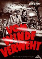 "3 Anciens Programmes Allemand Du Film "" Vom Winde Verweht ""  (Autant En Emporte Le Vent) (Gone With The Wind) 1939 - Programmes"