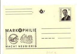 BELGIQUE ENTIER MARKOPHILIE NEUF - Stamped Stationery