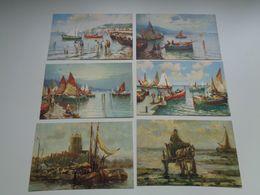 Beau Lot De 20 Cartes Postales De Fantaisie Mer  Bateau    Mooi Lot Van 20 Postkaarten Van Fantasie  Zee  Boot - Cartes Postales