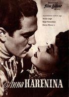 """Anciens Programme Allemand Illustrierte Film Bühne """" Anna Karenina """" N° 468 - Vivien Leigh, Ralph Richardson, 1948 - Werbetrailer"""