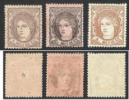 SPAIN / ESPANA--1870--HISPANIA--MH - 1868-70 Gobierno Provisional