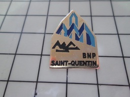 620 Pin's Pins / Beau Et Rare / THEME : BANQUES / BNP ST QUENTIN Rien à Sing-Sing Ou Alcatraz ? Pour Les Dirigeants !!! - Bancos