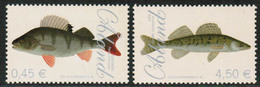 2008 Aland Islands, Fishes Set MNH. - Aland