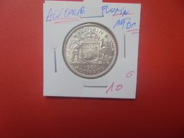 AUSTRALIE 1 FLORIN 1961 ARGENT (A.11) - Vordezimale Münzen (1910-1965)