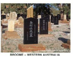 (B 26) Australia - WA- Broome Japanese Pearl Divers Cemetery - Broome