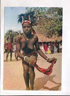 CPM AFRIQUE EN COULEURS, DANSEUSE AU MOUCHOIR - Postcards