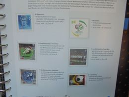 FOOTBALL-COUPE DU MONDE-WM 2006 TIMBRES+FDC SUPERBE ALBUM (2765) 2 KILOS 300 - 2006 – Germany