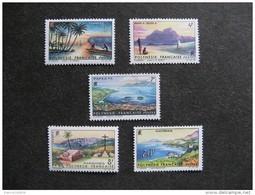Polynésie: TB Série N° 30 Au N° 34 ,neufs XX . - Polinesia Francese