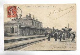 27 - GISORS - La Gare D' Embranchement ( Vue Des Quais ) - Gisors