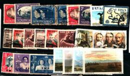 19258) SUD AFRICA LOTTO DI FRANCOBOLI -MNH**-USATI - South Africa (1961-...)