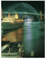 (B 28) Australia - NSW - Sydney Sea Princess Cruise Ship In Port - Sydney