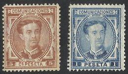 SPAIN / ESPANA--1876--ALPHONSE XII--MNH - Nuevos