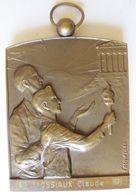 Médaille Province De Hainaut, Attribué à Gossiaux 1954 - 1987, Par Fischweiler - Bélgica