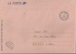 Cachet Manuel De Ludres _ Sur Enveloppe De Service - Postmark Collection (Covers)
