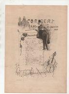 Programme Du Concert Du 17 Janvier 1903 (non Localisé) (signé : Germain?) (M0302) - Programmes