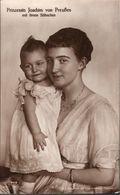 ! Alte Ansichtskarte, Adel, Royalty, Prinzessin Joachim Von Preussen, Prinz Karl Franz Joseph, Else Niemeyer, Potsdam - Familles Royales