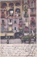 ITALIE - NAPOLI - NAPLES - CASE VECCHIE ALLA MARINA -  VOIR CACHET VICTORIA HOTEL - Napoli