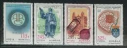 Roumanie 1993 / Yvert N°4120-4123 / ** - 1948-.... Republiken