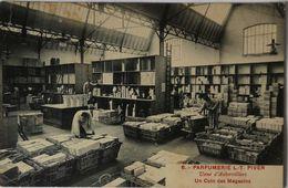 Aubervilliers (93) Usine Parfumerie L. - T. Piver // Coin Des Magasins (Carte Promotion L. - T. Piver) 1921 - Aubervilliers