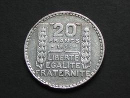 20 Francs TURIN 1937 - Argent - Silver  ***** EN ACHAT IMMEDIAT **** - France