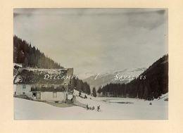 Suisse Valais Champéry * Pas De Morgins Frontière Châtel Abondance * Photo Originale 1903 - Voir Scans - Lieux