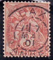 France YT 109 Blanc Dax 07/05/01 - 1900-29 Blanc