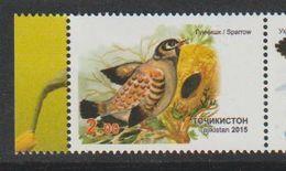 Tadjiistan. Tajikistan 2015   Moineau. Sparrow - Songbirds & Tree Dwellers